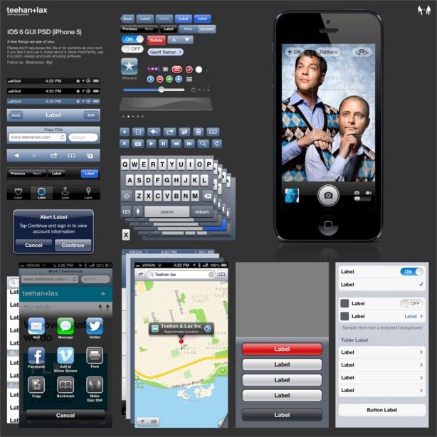 iOS 6 GUI